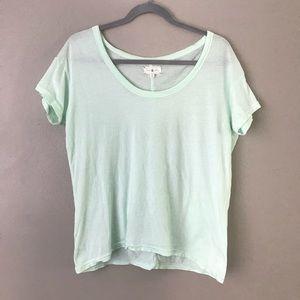 Lou & Grey  scoop neck short sleeve t-shirt